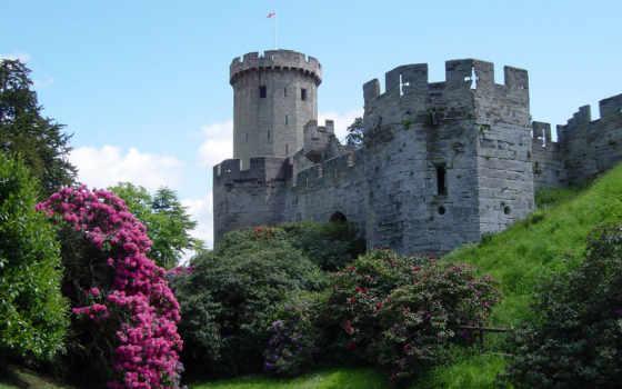 замки, замок, medieval