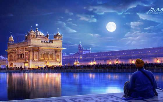 india, города, храм