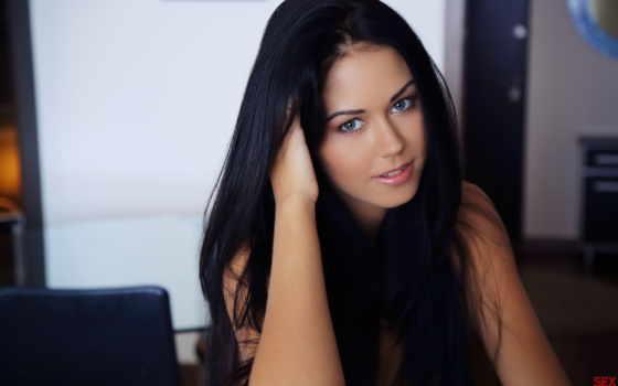macy, free, волосы, изображение, взгляд, brunette, devushki, black, women,