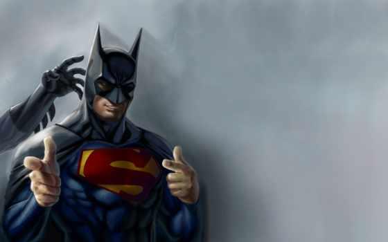 batman, superman, superheroes, бэтмен, comics, фон, artwork, white,