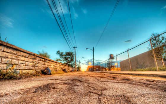 дороги, города, улица, дорога, улицы, стена, стены, заборы, город,