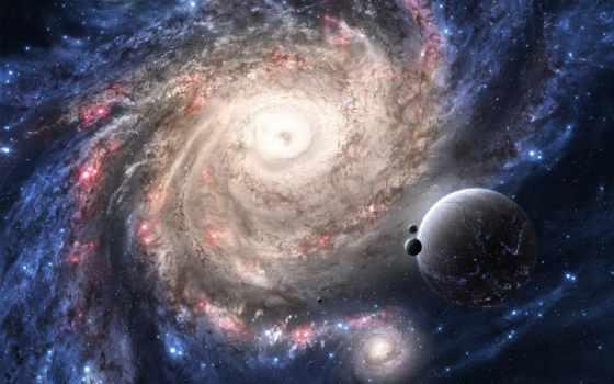 cosmos, планеты, звезды, galaxy, широкоформатные, planet,