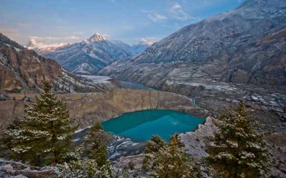 аннапурна, trek, контур, club, nepal, пошли, пешком, tourist, raglan, природы, самолеты,