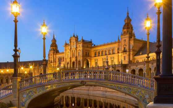 plaza, sevilla, españa, испания