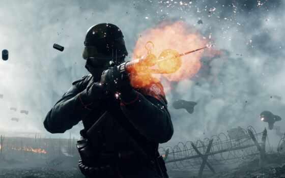 battlefield, солдат, shoot, game, фото, винтовка, военный, world, stokovyi