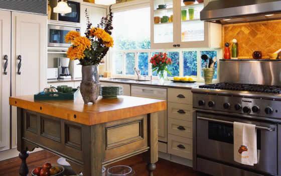 кухни, ремонт, квартиры, хрущевке, country, ремонту, интерьер,