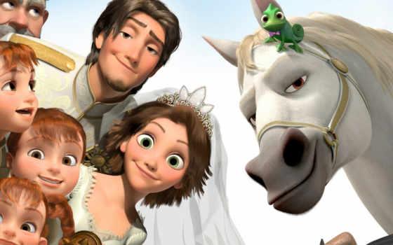 tangled, rapunzel, свадебный