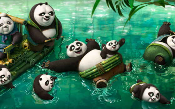 boo, кунг, панда, кадры, сниматься,