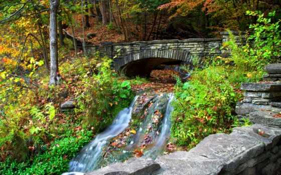 река, бедечка, мост, природа, park, imagine, камень, elena, kyselova,