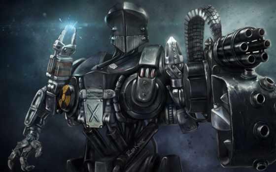 robocop, cain, cyborg