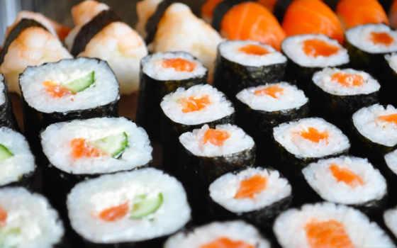 sushi, fresh,