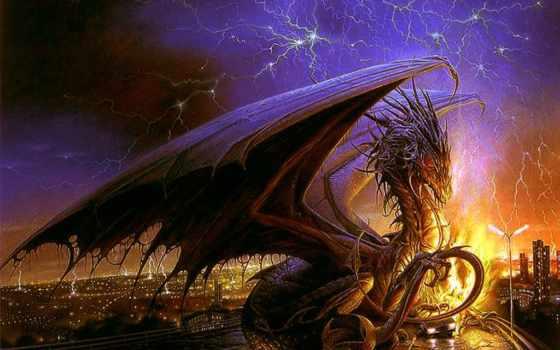 fantasy, драконы, фантастика, драконы, картинку, дракон,