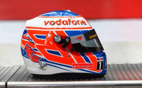 шлем, пилота, дженсон, баттон, формула, button, vodafone, формулы,