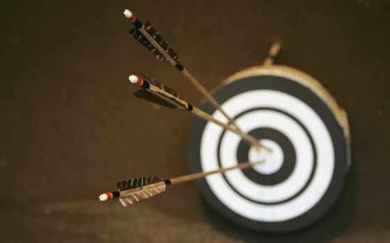 мишени, стрелы, размытость