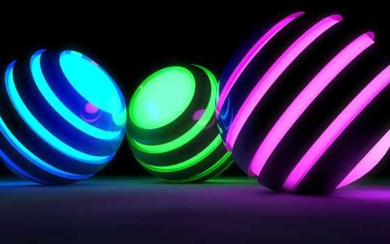 grafika, shar, spheres