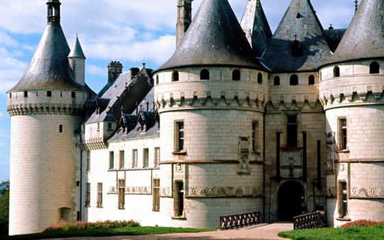 красивые, замки, самые