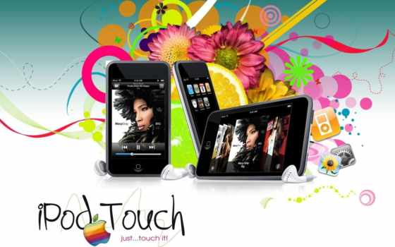 apple, ipod, touch