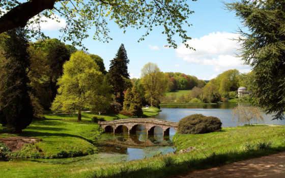 stourhead, garden, англия