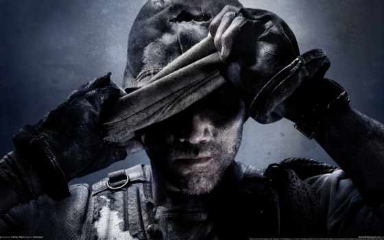 солдат, колл, duty Фон № 110984 разрешение 2560x1440