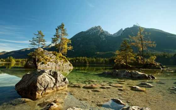 id, природа, full, cover, desktop, озеро, гора,