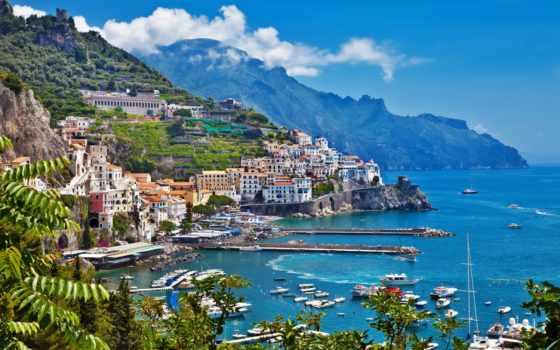 amalfi, побережье, italian, италии, города, туры, горы, дома,