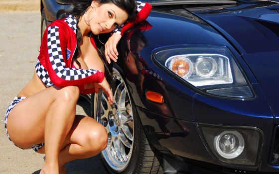 авто, девушки Фон № 14496 разрешение 1920x1200