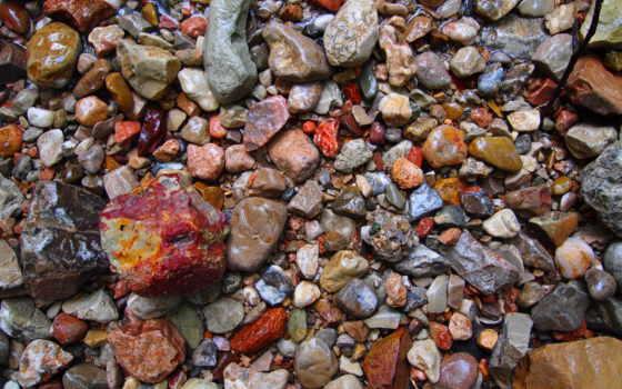 камни, текстура, галька