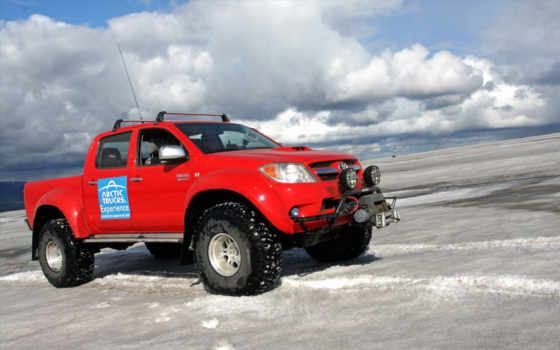 toyota, arctic, hilux, trucks, truck, cab, double,