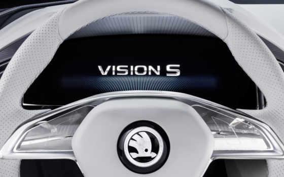 visions, skoda, concept, koda, vision, шкода, сочетание, приборов, вижн, логотип,