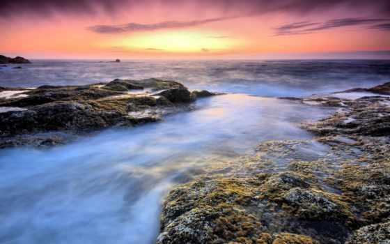 море, камни, туман, красивые, vityok, pack,