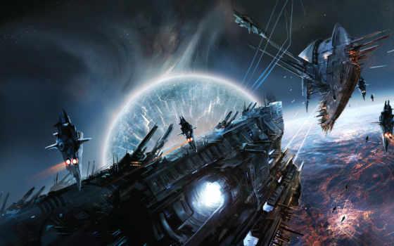 cosmos, fantasy, корабль