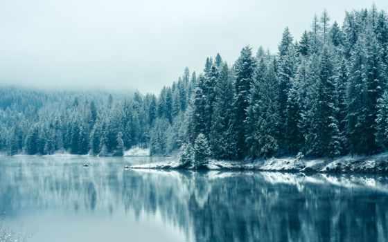 телефон, река, картинку, пейзажи -, британская, канадский, winter, только, телефонов, colombia, mobile,