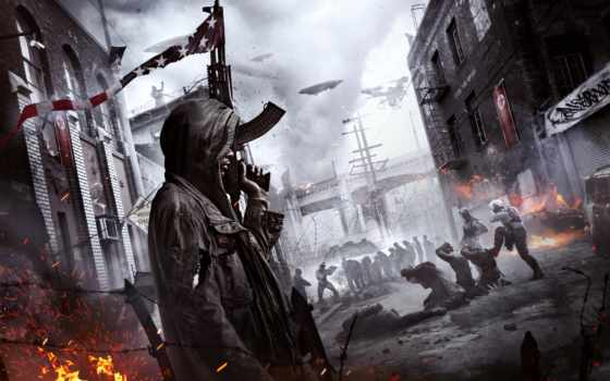 homefront, revolution, солдат, fps, shooter, art, ctrl, base, grey, скриншот, resolution,
