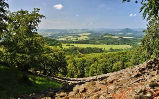 изображение, scenery, природа, республика, чехия, фото, kamenice, чехия,