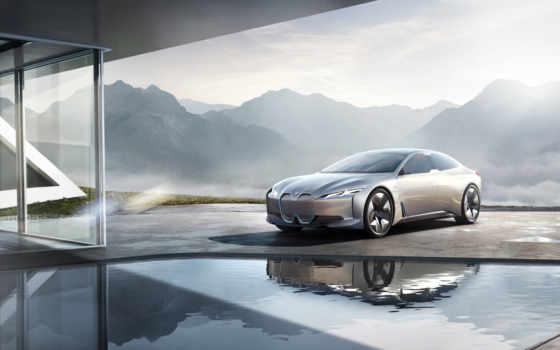 bmw, vision, dynamics, concept, франкфурте, car, frankfurt, electric, представлен,