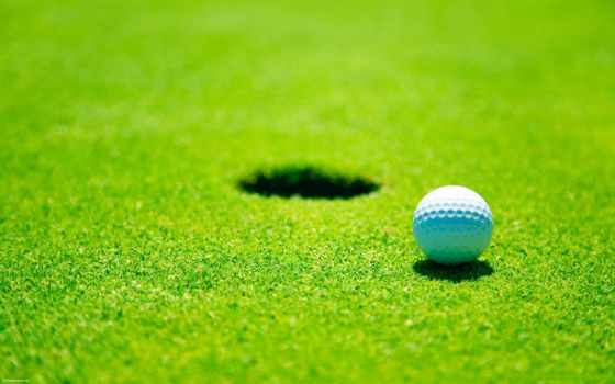golf, спорт, one, hole, поле, гольфа,