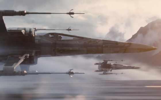 star, wars, крыло, one, rogue, палуба, battlefront