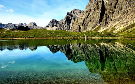 austrian, горы, природа, австрии, tyrol, картинка,