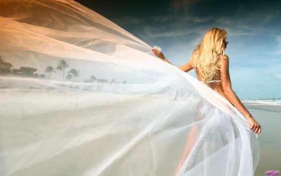 пляж, free, stock, невеста, photos, свадебный, photography, картинка, изображение, romantic,