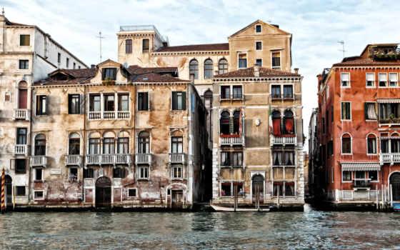 veneza, casa, stock, venezia, parede, italy, casas, venice, itália,