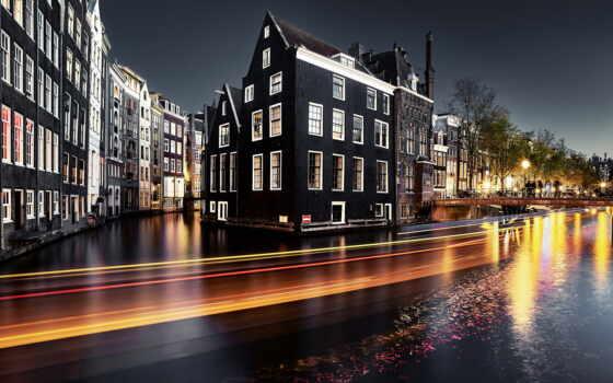 amsterdam, кафе, water, музыка, aen, bar, ночь, город, улица, holland