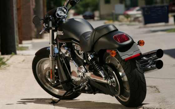 harley, davidson, мотоцикл, vrsc, bike, black, xl, харли, мотоциклы,