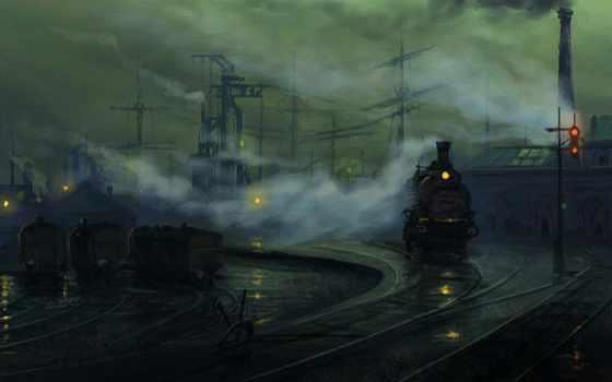 steampunk, art, стимпанк, trains, images, маска, great, pics,