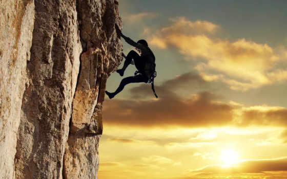 climber, небо