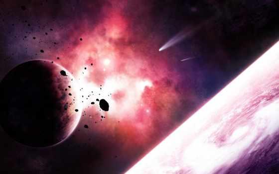 кометы, космос, planet