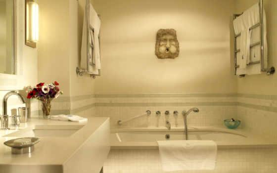 комнату, стиль, ванную
