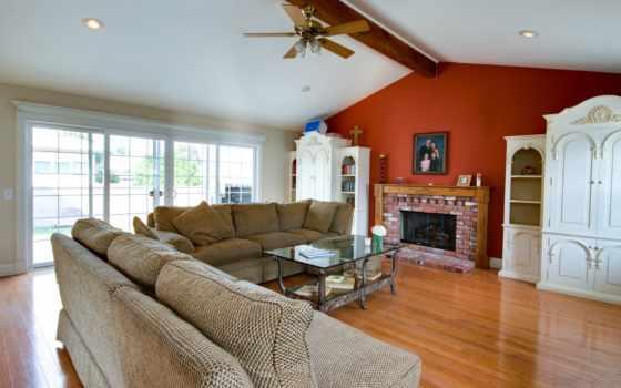 интерьер, design, диван, подушки, потолок, living, смотреть, размере, истинном, обою,