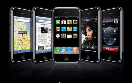 apple, iphone, телефон