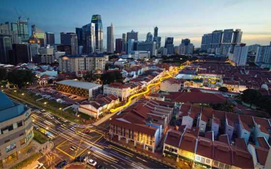 chinatown, singapore, фон, free,