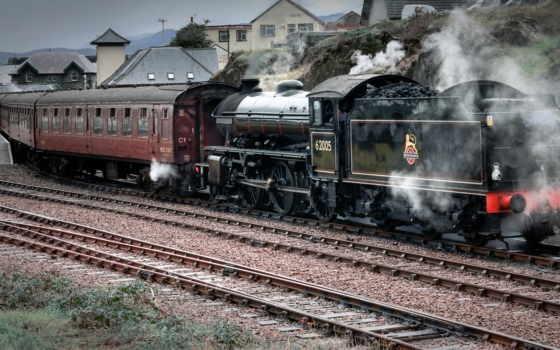 поезда, дорога, железная, композиция, локомотив, поездов, mobile,